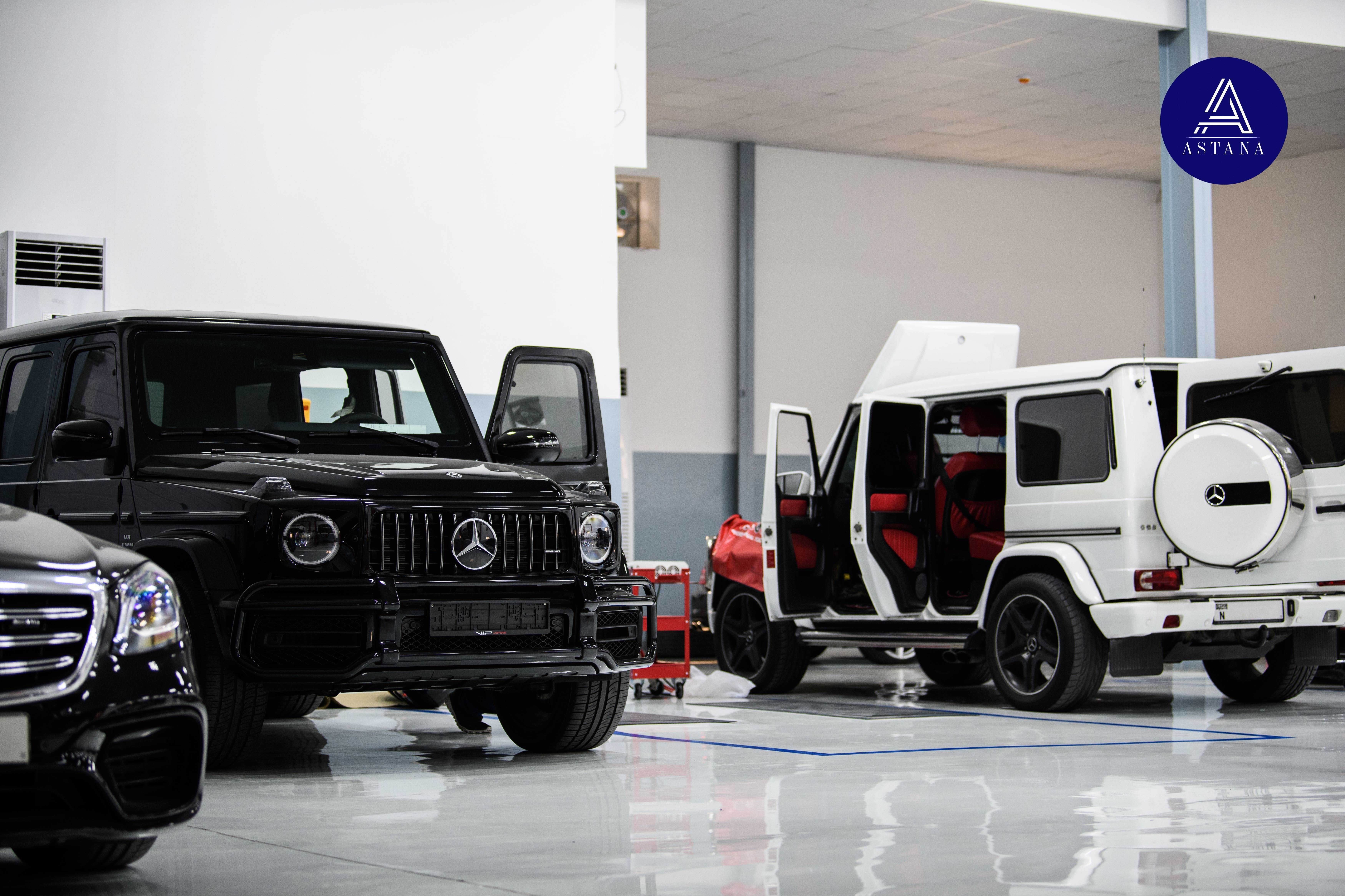 workshop Astana Specialized Service For Mercedes-Benz фото 1